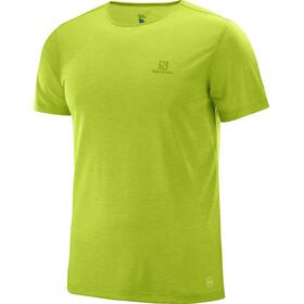 Salomon Cosmic Kortærmet T-shirt Herrer grøn
